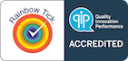 QIP Rainbow Tick Accreditation