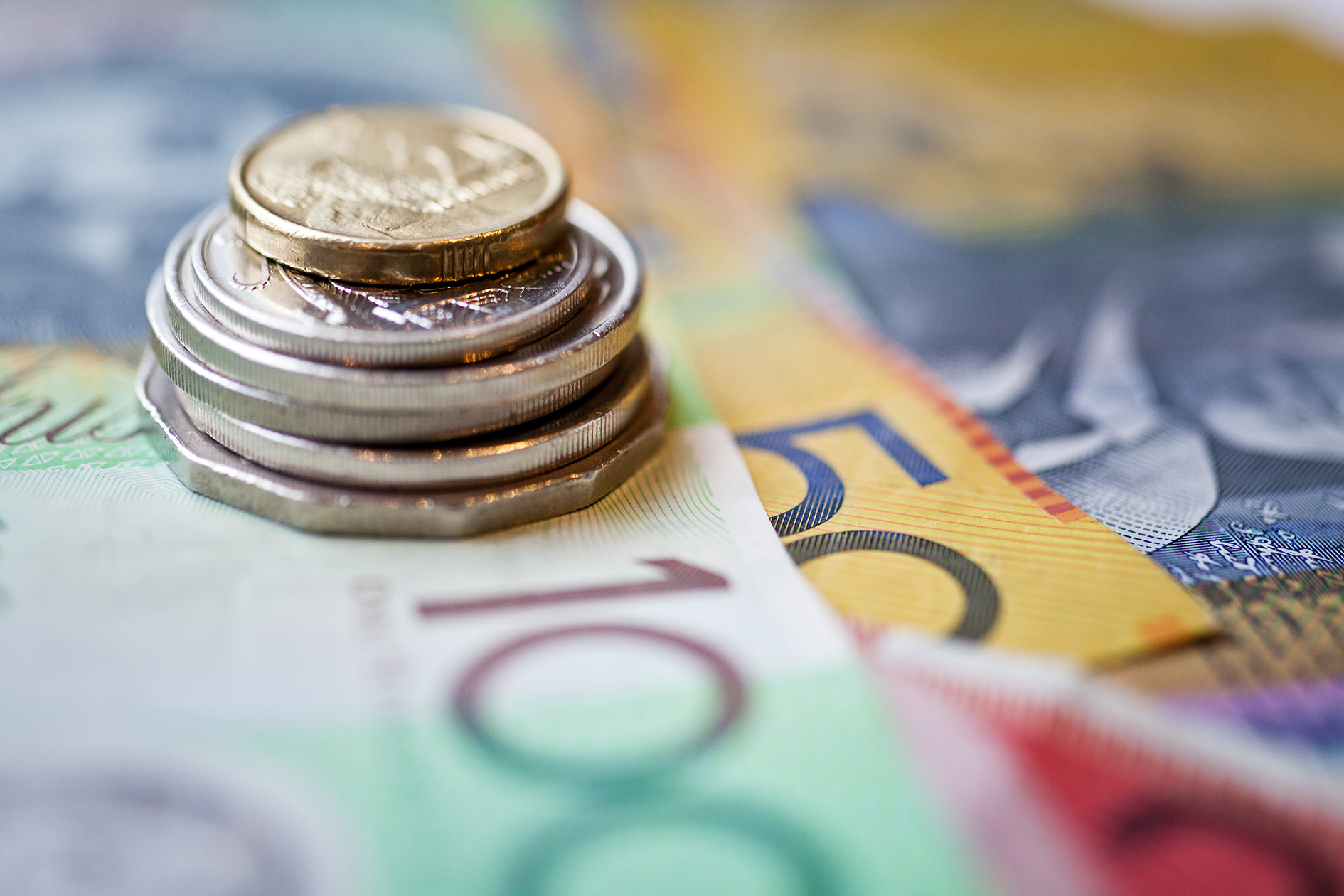 Australian Money Currency Or Cash